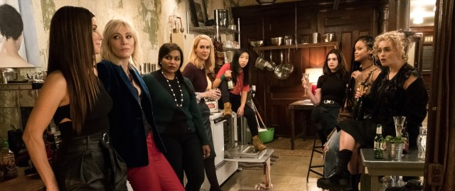 Box Office Wrap Up: Ocean's 8 Swipes 1st Place.