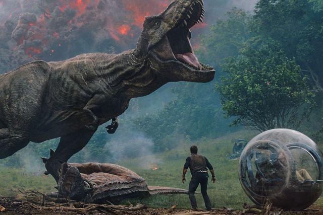 Movie Leftovers: Jurassic World Fallen Kingdom.