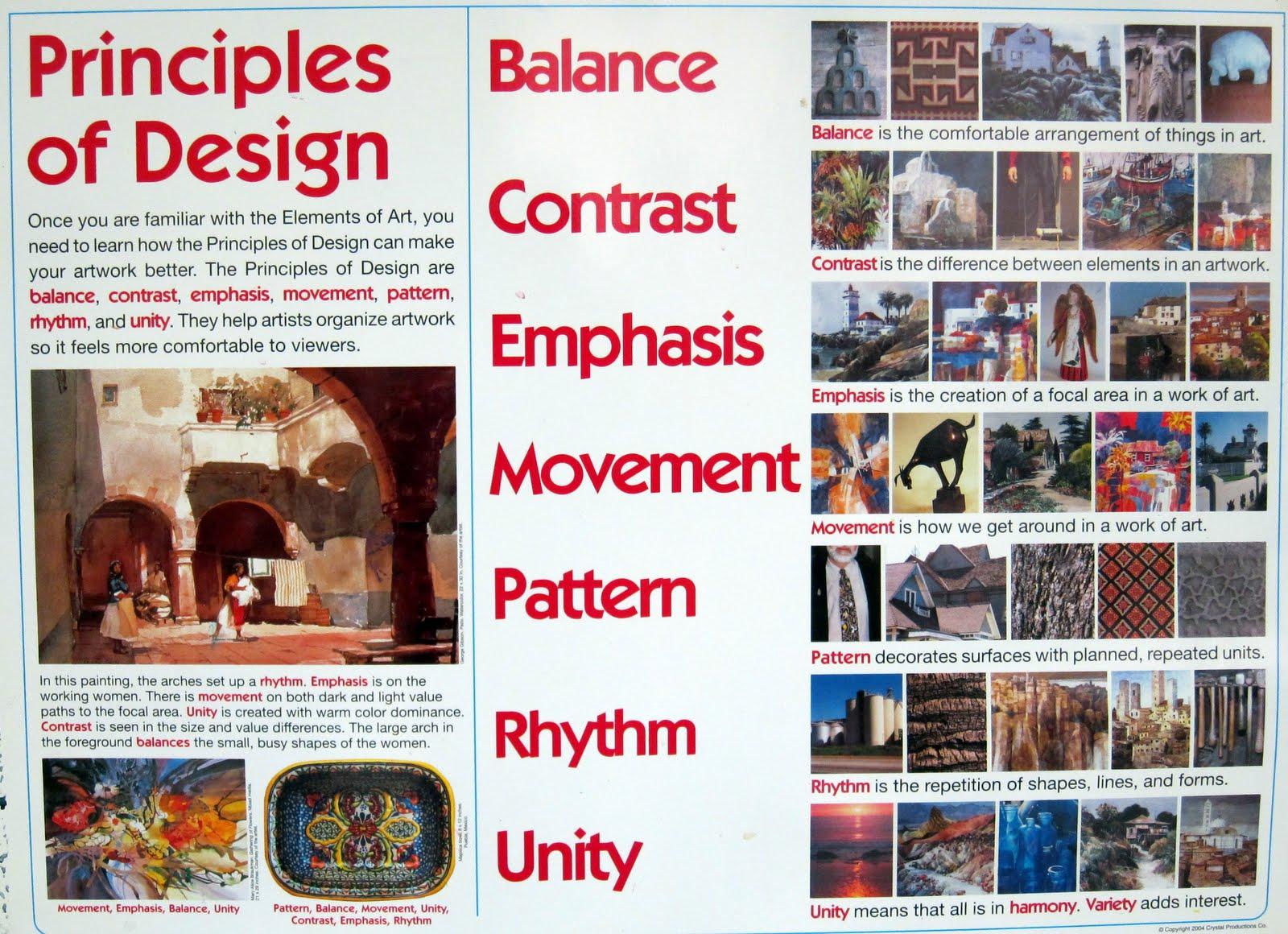 Elements Amp Principles Of Art Amp Design