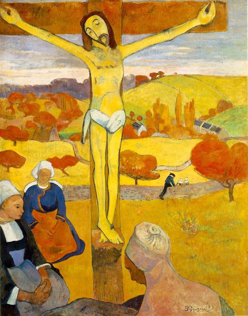 gauguin christ-jaune