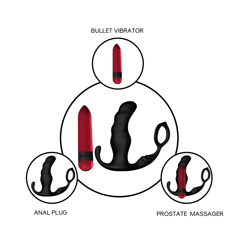 Prostate Massager with remote