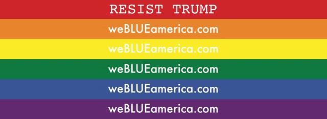 RESIST TRUMP weBLUEamerica.com