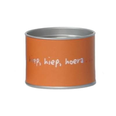dekseldoos klein oranje