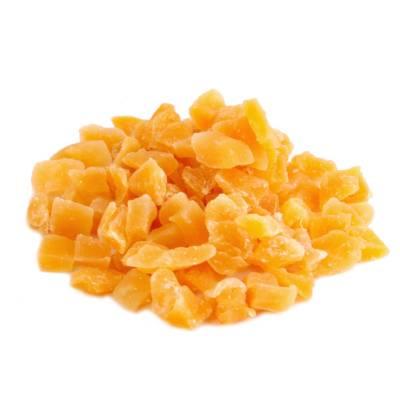 Fruitblokjes mango oranje