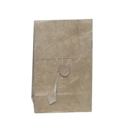 laag zakje lokta knoopje taupe