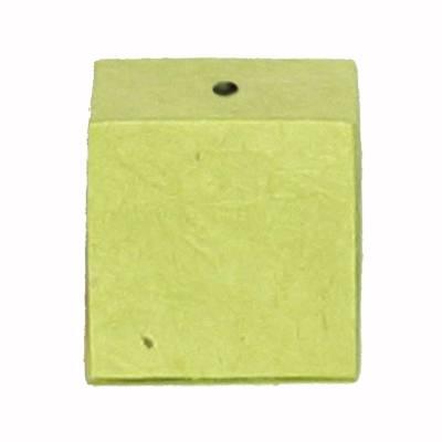 minidoosje lokta met gaatje lemon green