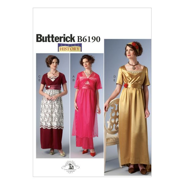 Edwardian Sewing Patterns- Dresses Skirts Blouses Costumes