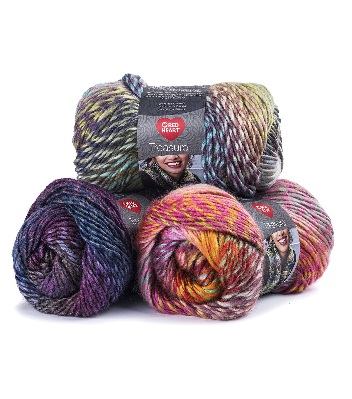 Red Heart Boutique Treasure Yarn
