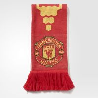adidas Manchester United FC Home Scarf - Red | adidas US