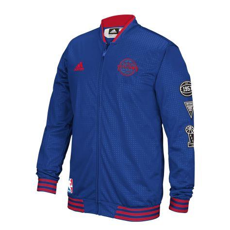 adidas - Pistons On-Court Warm-Up Jacket MULTI AI1782