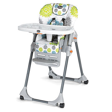 Girl High Chairs Chicco Chicco Polly Highchair Zest