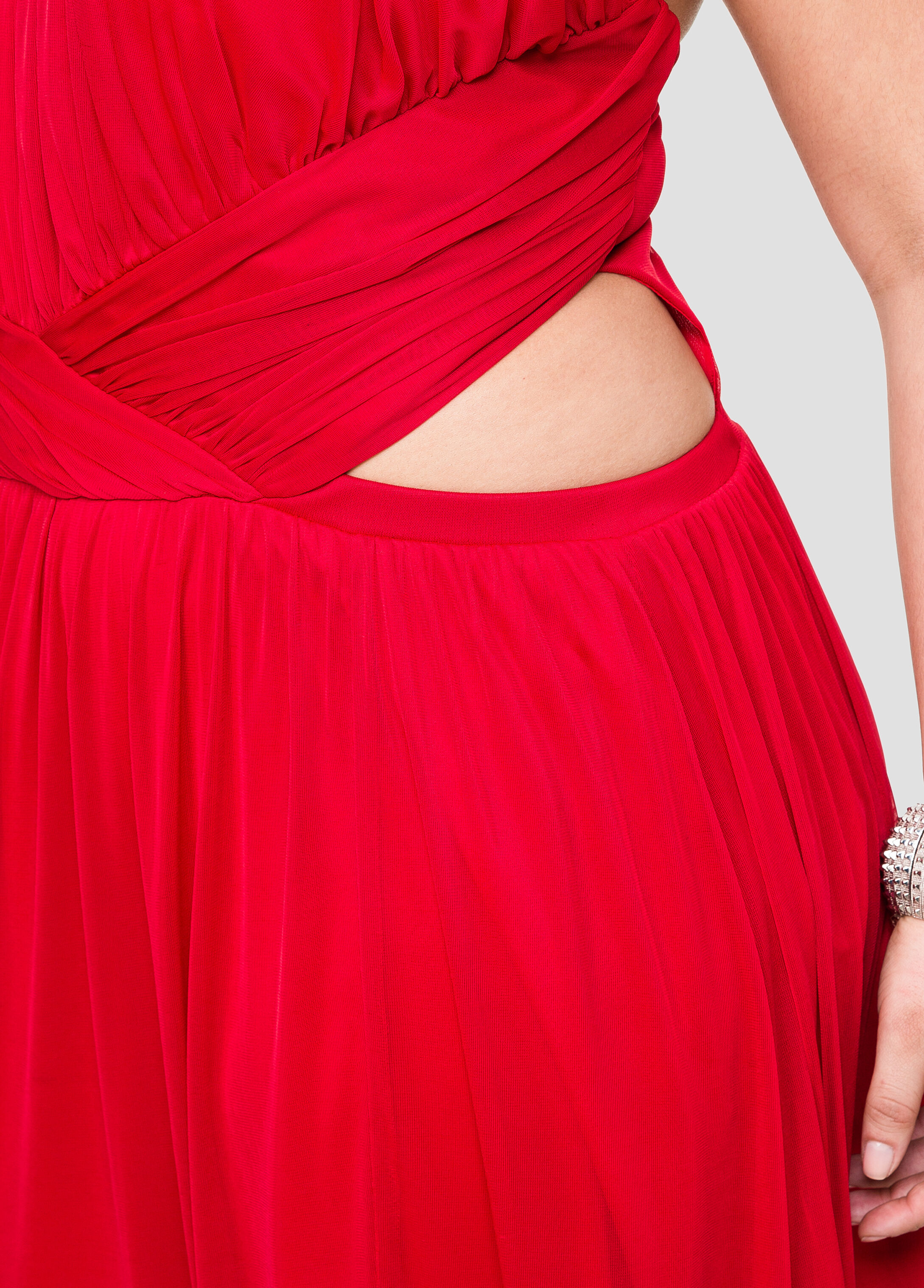 Open Side Halter Gown- Size Special Occasion Dresses