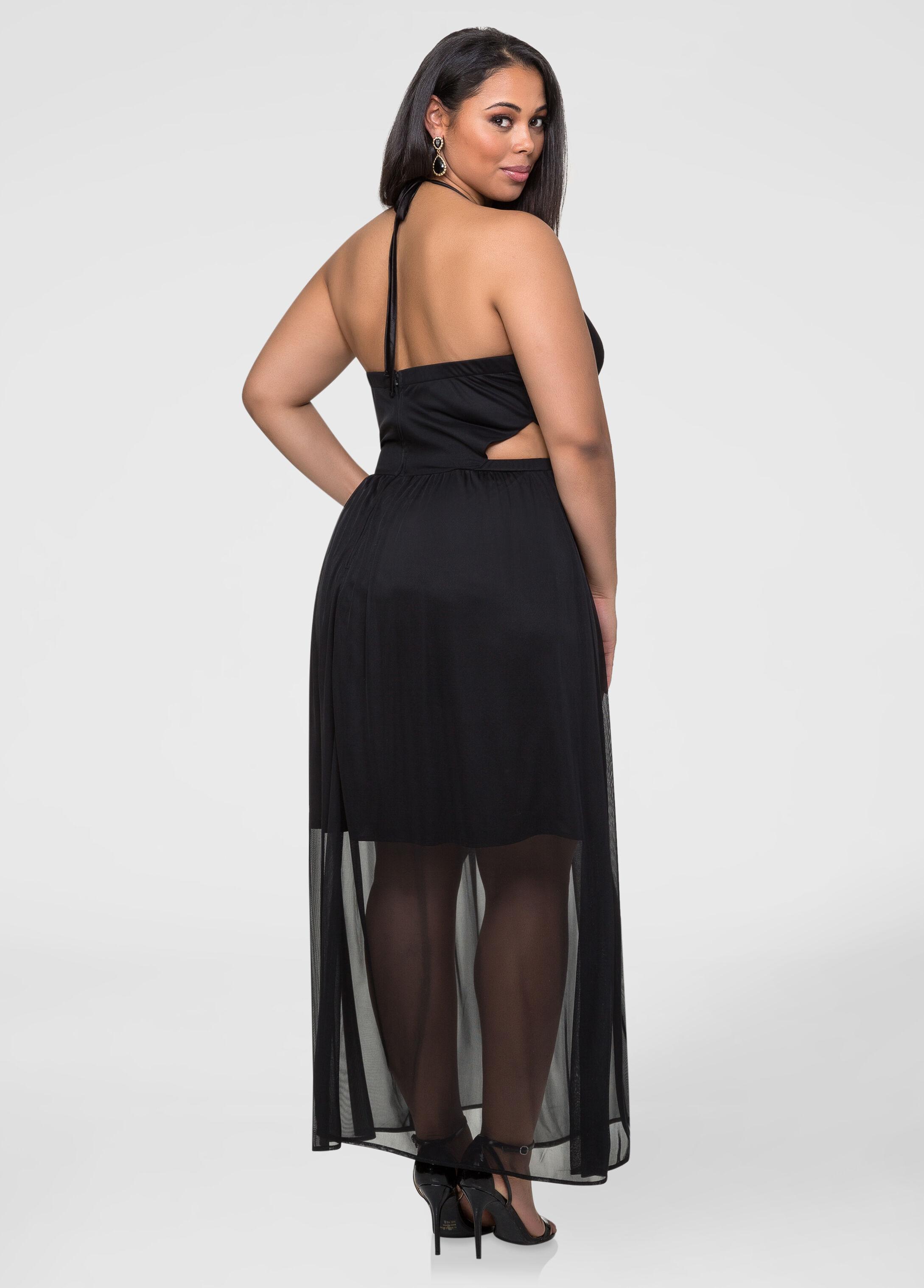 Halter Open Side Dress