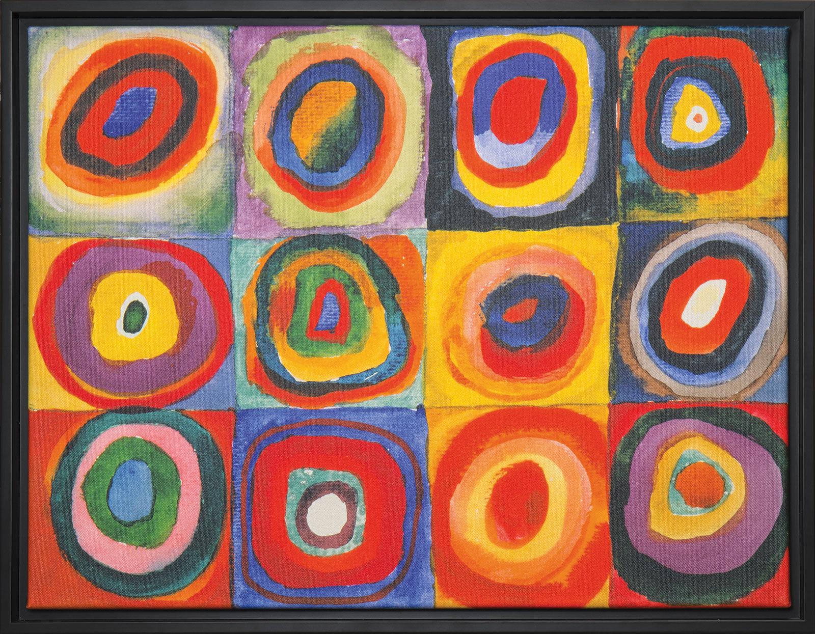 De Bild Farbstudie Quadrate L