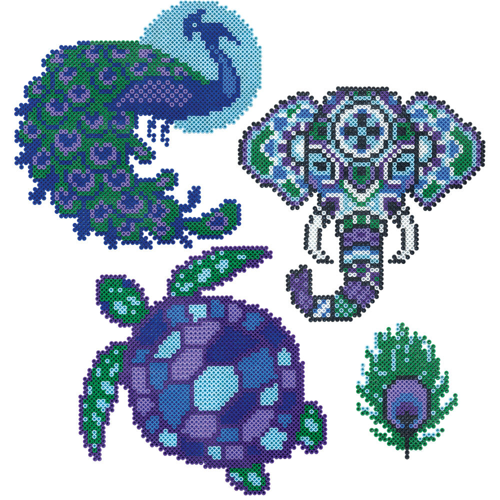 Small Perler Bead Patterns Animals