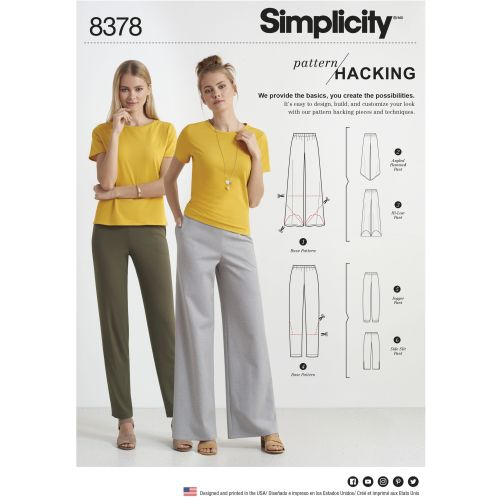 Pattern Review Simplicity 8378 Pattern Hacking Line
