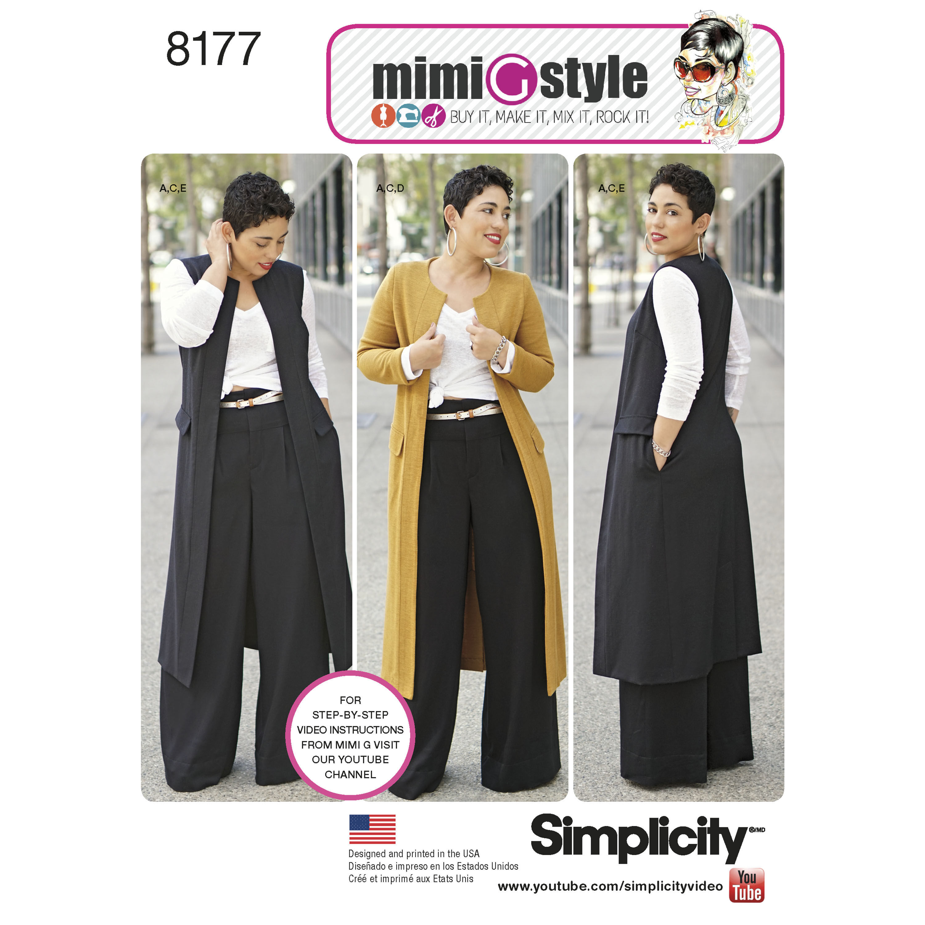 Image result for simplicity pattern 8177