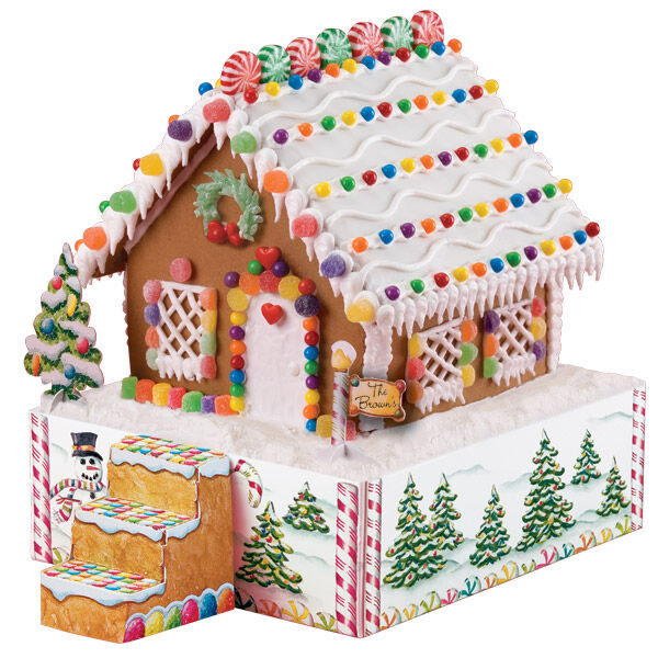 Gingerbread House Stand Kit Wilton