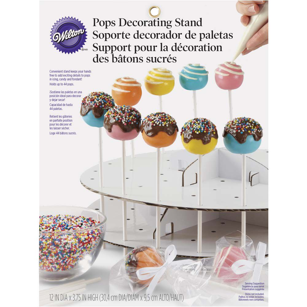 Cake Pops Decorating Stand  Wilton