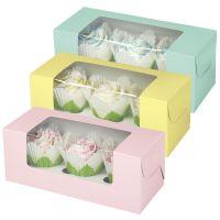Pastel 3-Cupcake Box | Wilton