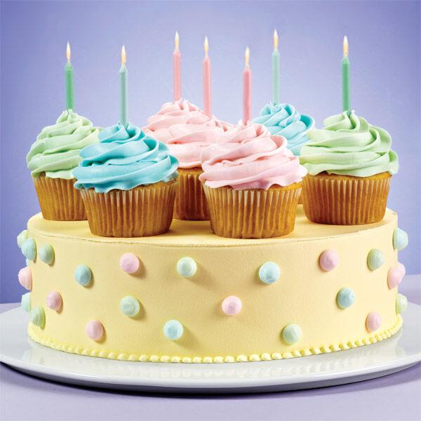 Pretty Party Cupcakes & Cake   Wilton