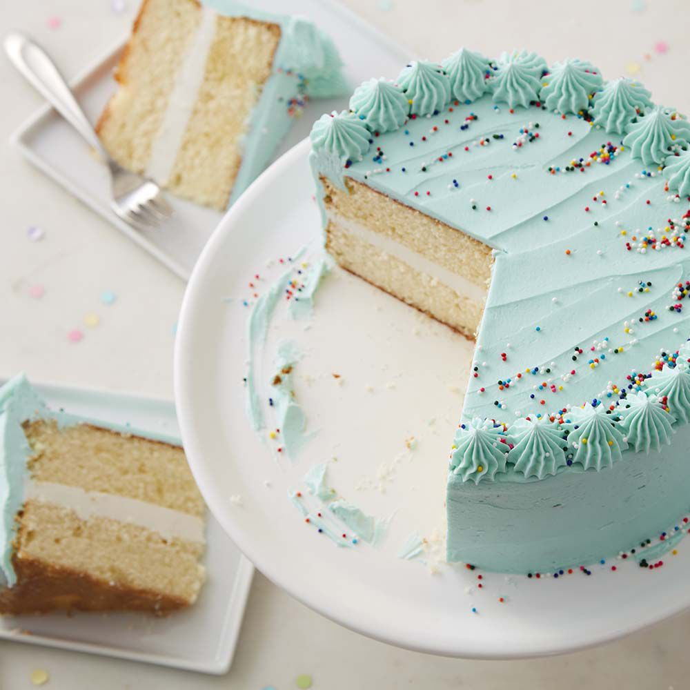 Classic Happy Birthday Cake   Wilton