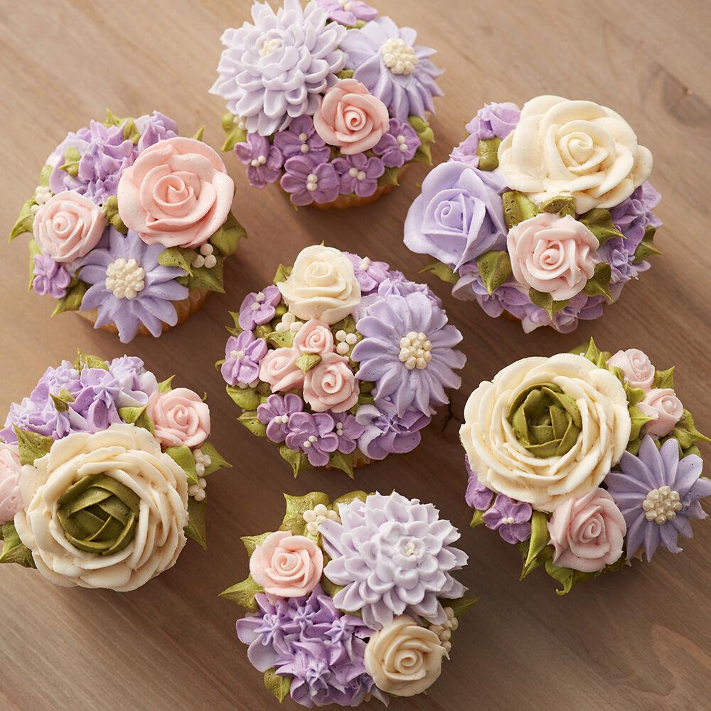 Floral Fantasy Cupcakes Wilton