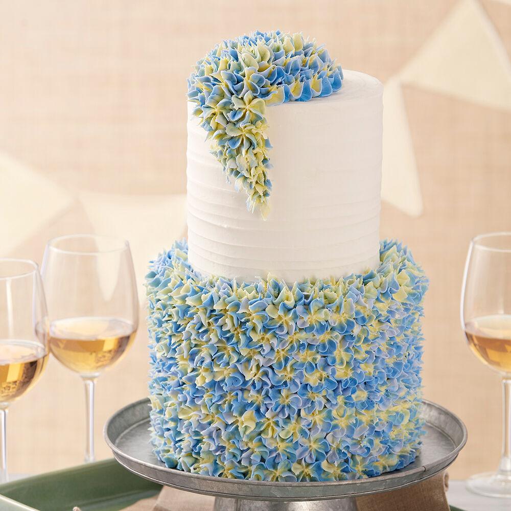 Elegant Hydrangea Cake   Wilton