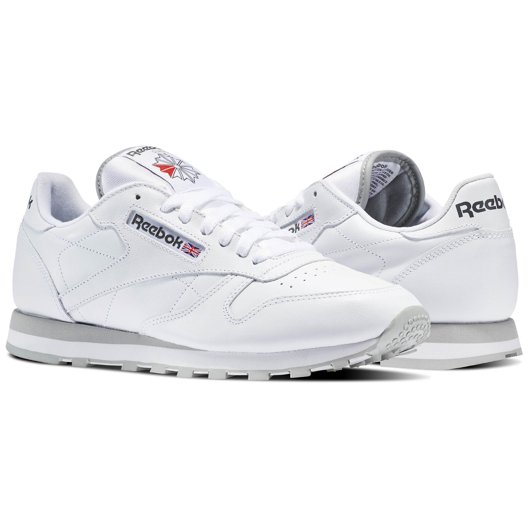 Reebok - Classic Leather White / Lt. Grey 2214
