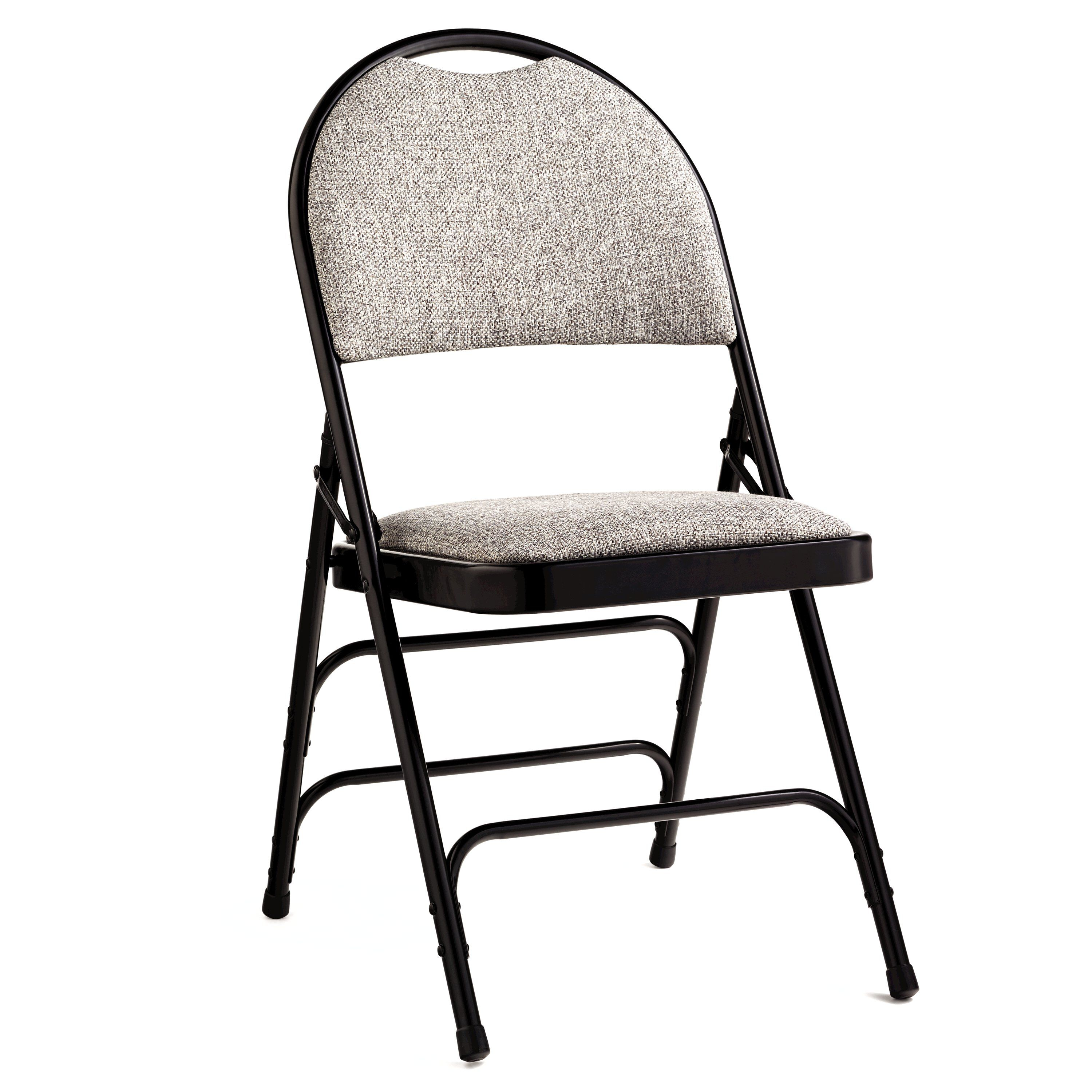 folding chair fabric comfortable chairs for bedrooms samsonite comfort series steel and case 4