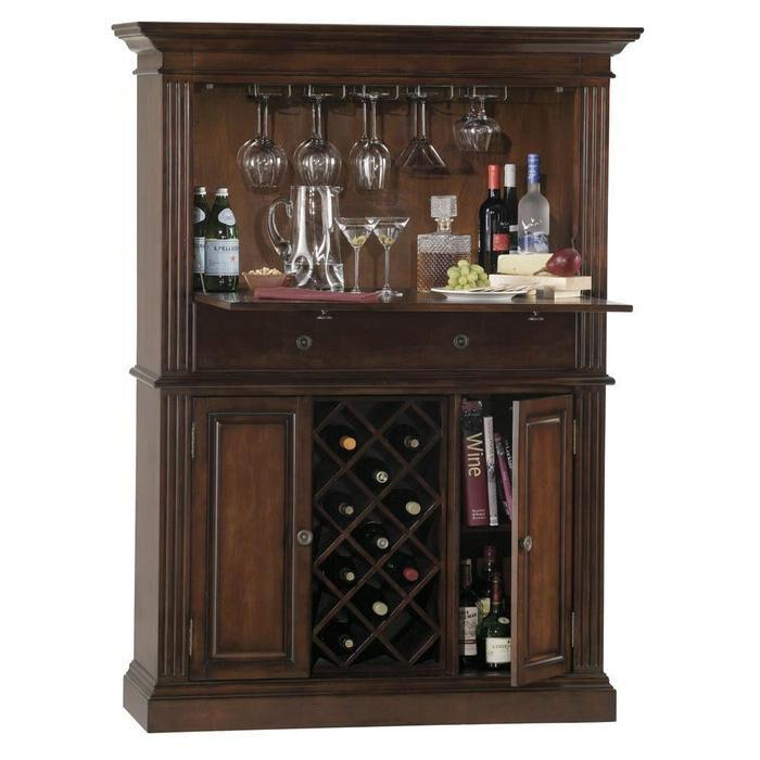 Howard Miller Seneca Falls Home Bar Liquor Cabinet  eBay