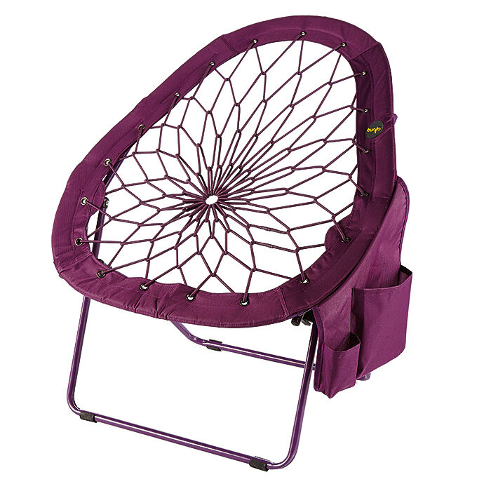 bunjo chair target overstuffed with ottoman super-bungee new pear shape only from brookstone! | ebay