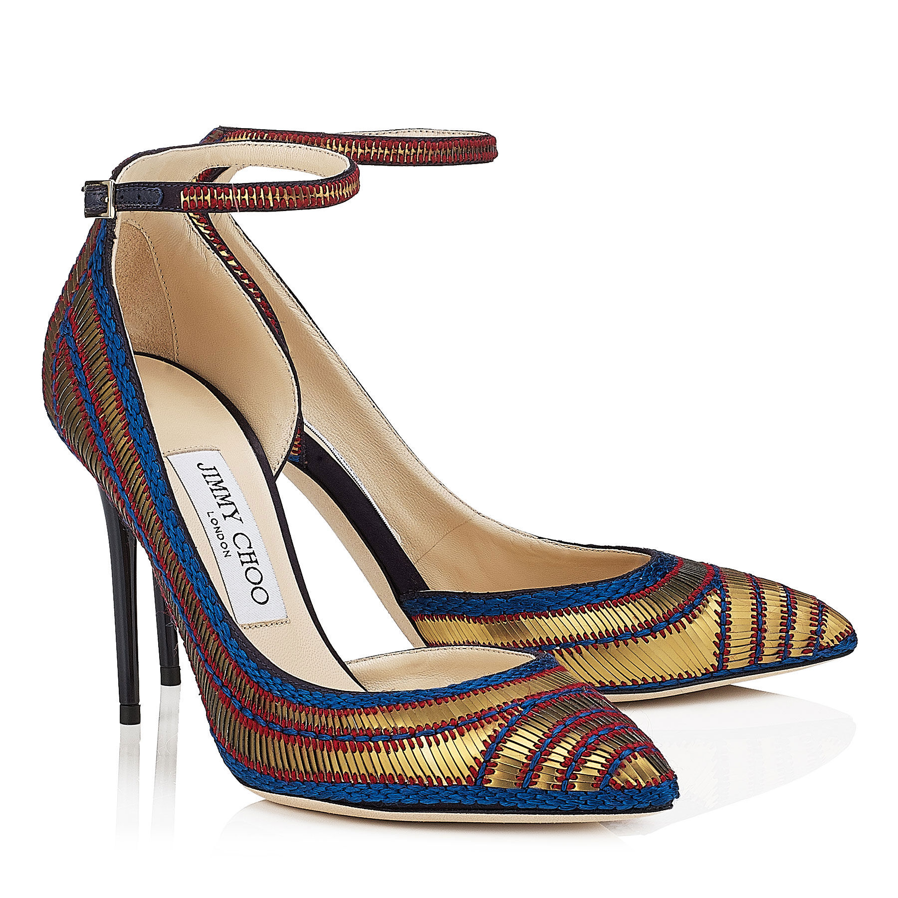 f25273e1887b -Amber Suede and Dark Brown Leather Buckled Sandals. UMZ Shoes - Jimmy Choo