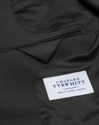 Black classic fit shawl collar tuxedo suit | Charles Tyrwhitt