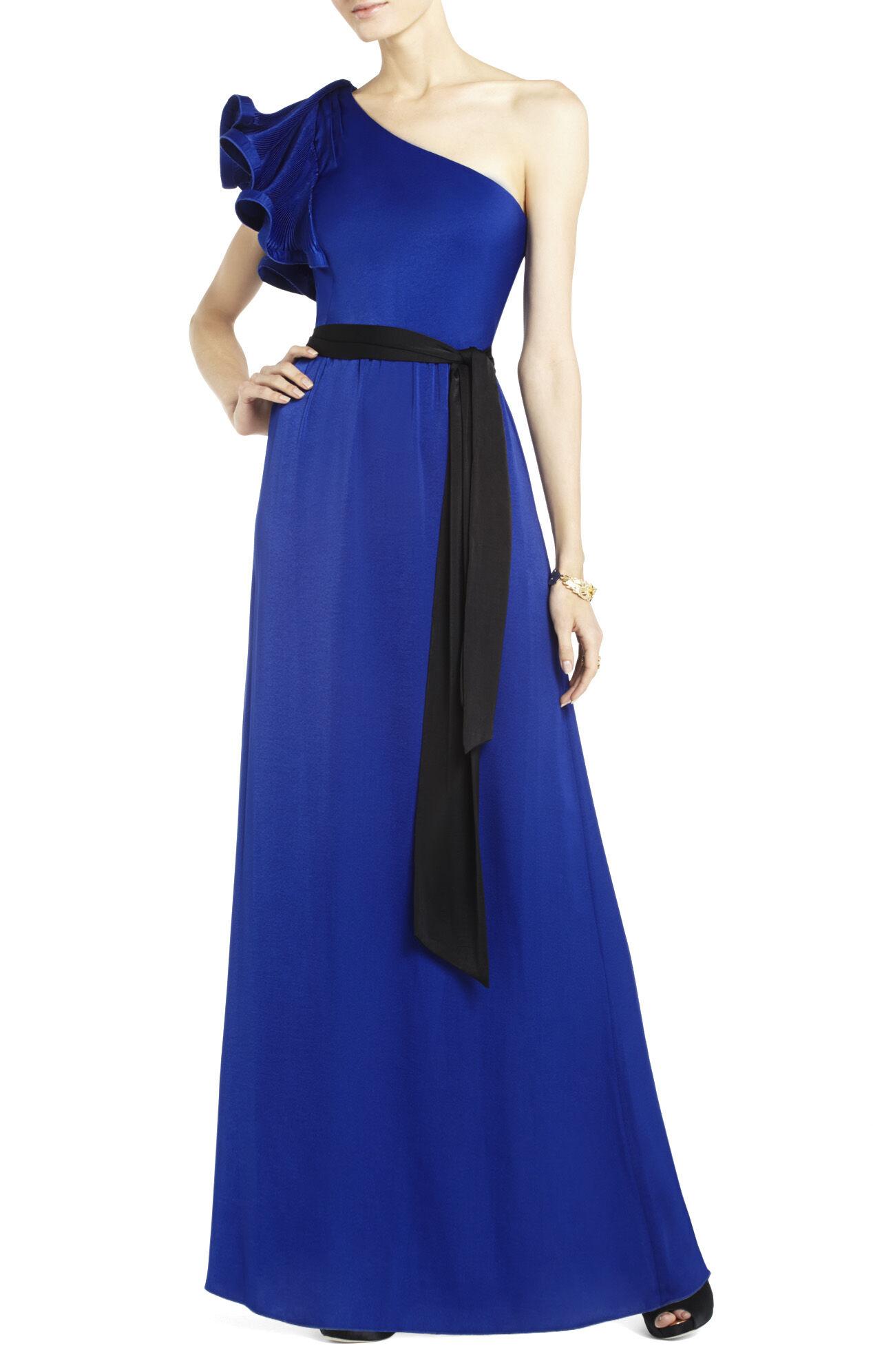 Bcbgmaxazria Mel -shoulder Long-length Dress