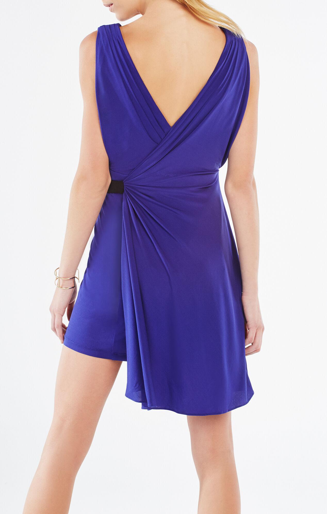 Asymmetrical Wrap Dress