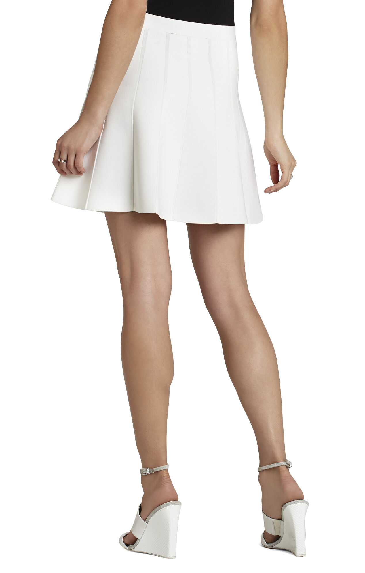 Queeny Paneled Skirt