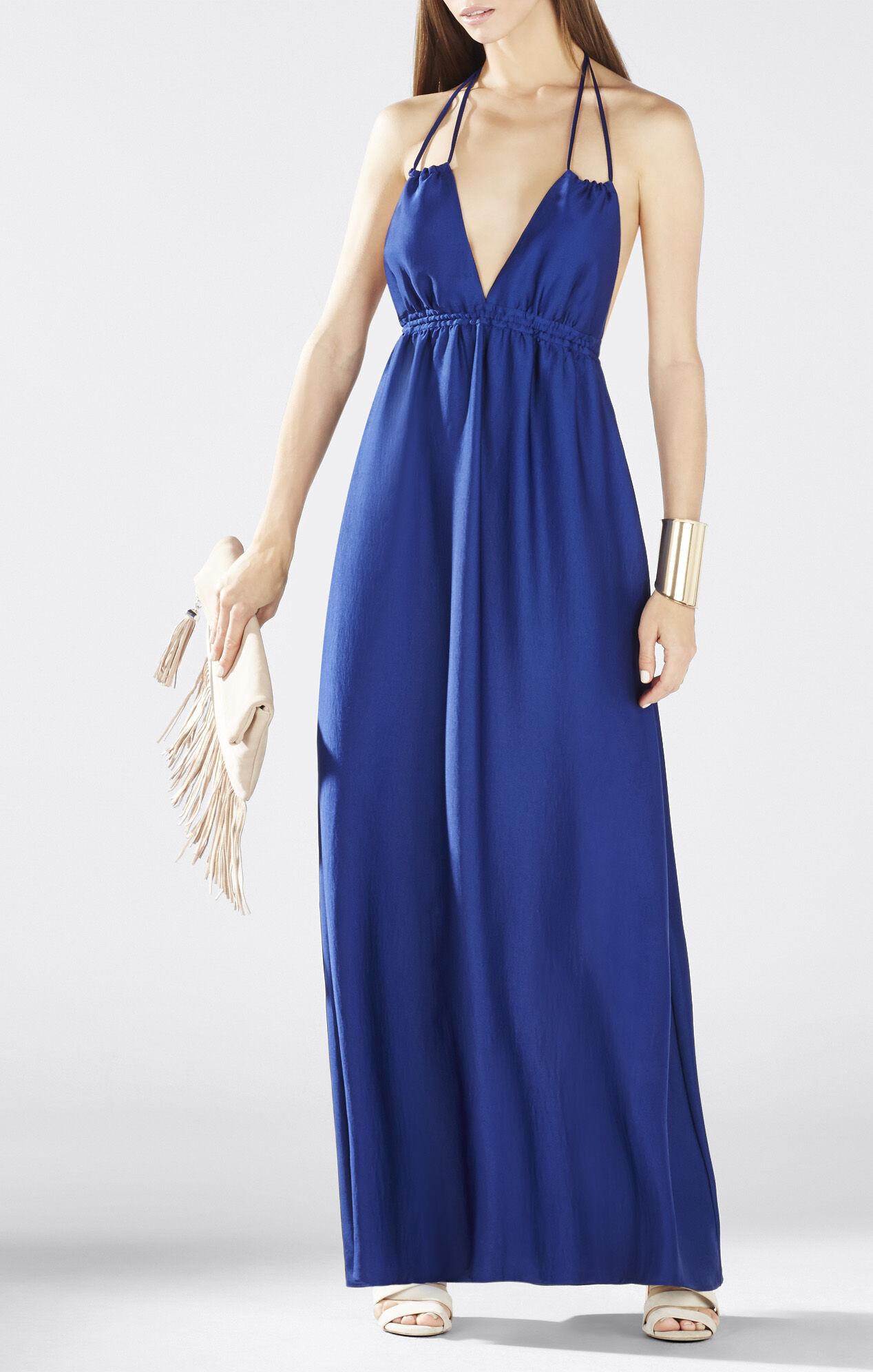 BCBG Blue Maxi Dress