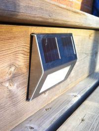 Solar Deck Lights, Set of 4 - Solar Step Lights - Solar ...