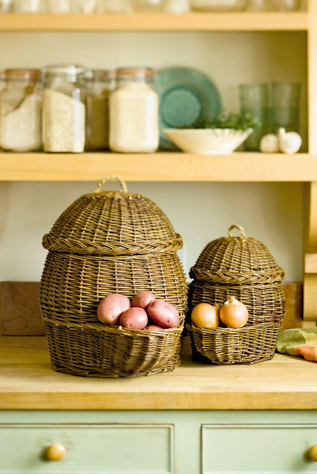 Onion & Potato Storage Baskets