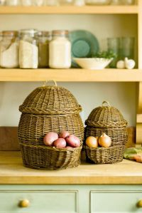 Onion & Potato Storage Baskets