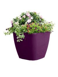 Large Square Planters: Self-Watering Rolling Planter ...