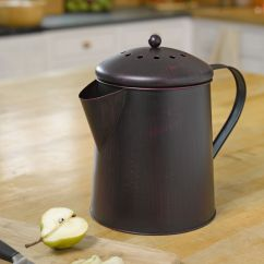 Compost Pail Kitchen Remodeling Ideas For Kitchens Coffee Pot - | Gardeners.com