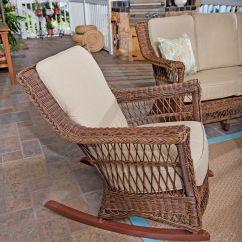 Wicker Rocking Chairs Leather Wing Uk Danish Eucalyptus Bistro Set Of 4 Gardeners
