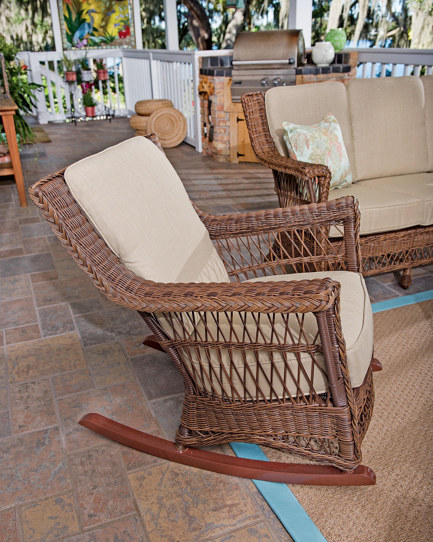 wicker rocking chairs distressed leather armchair uk danish eucalyptus bistro set of 4 gardeners