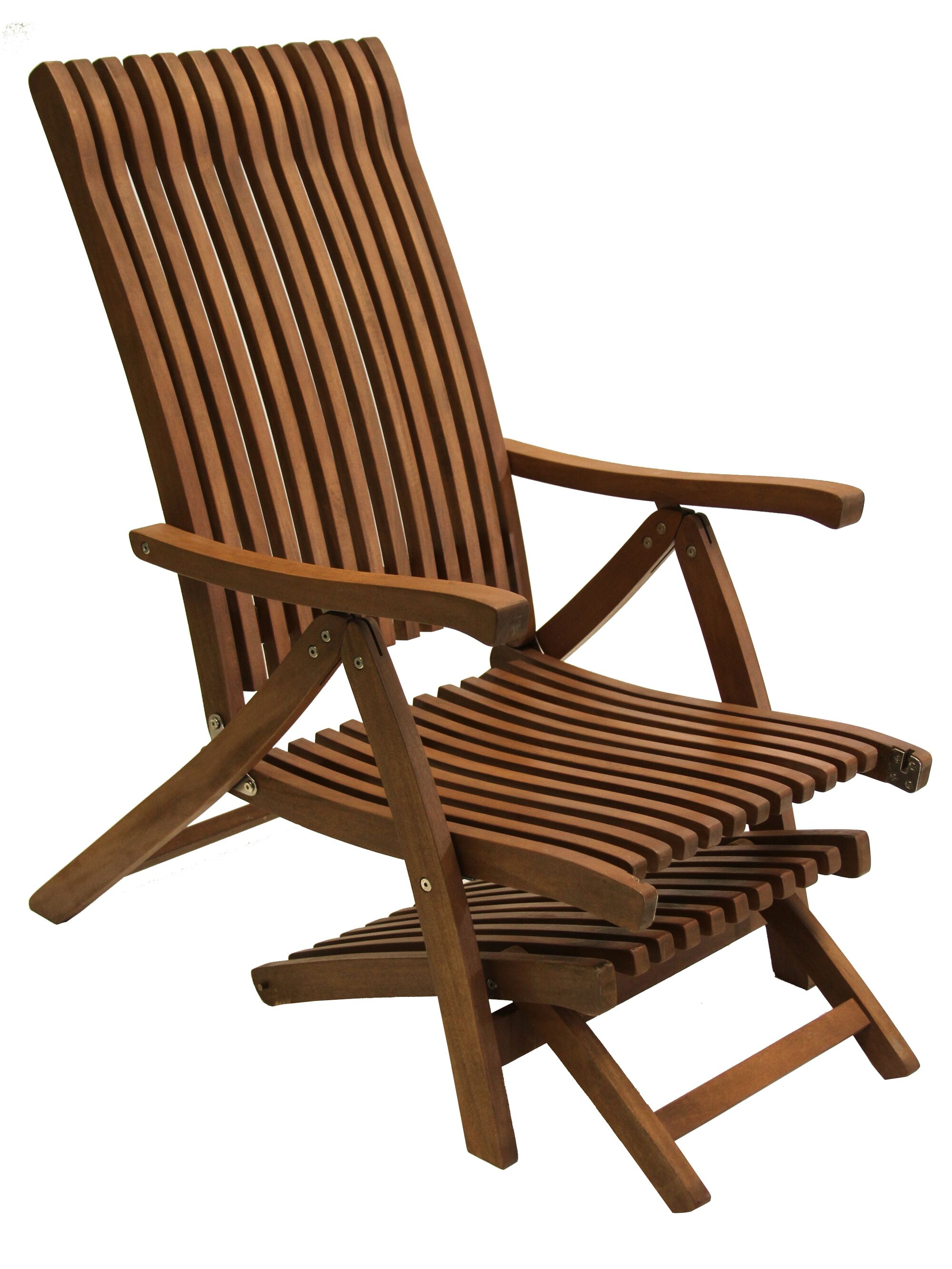 Folding Chaise Lounge Chairs Outdoor - Wood