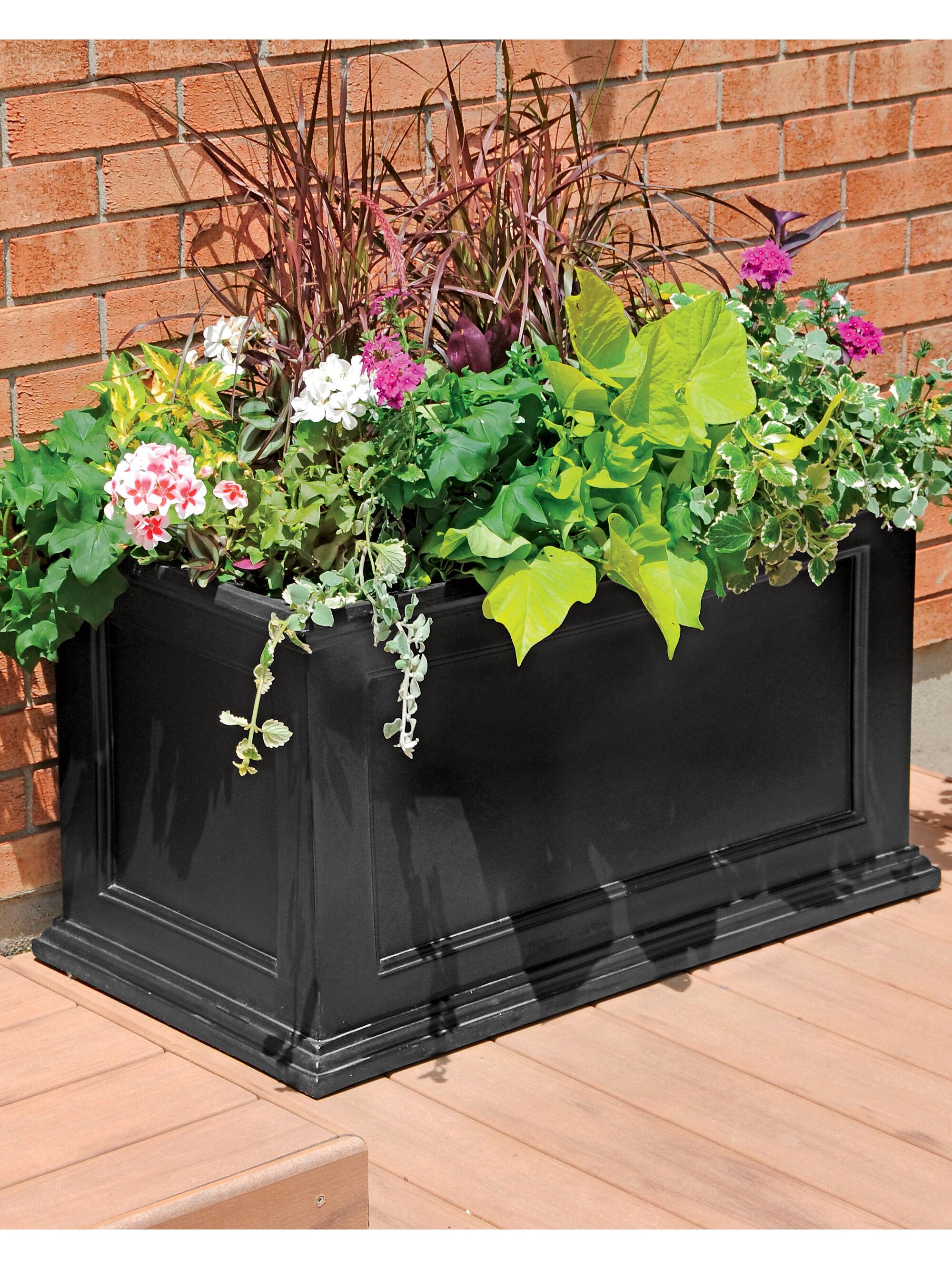 Rolling Elevated Planter Box UGarden Raised Planter  Gardenerscom