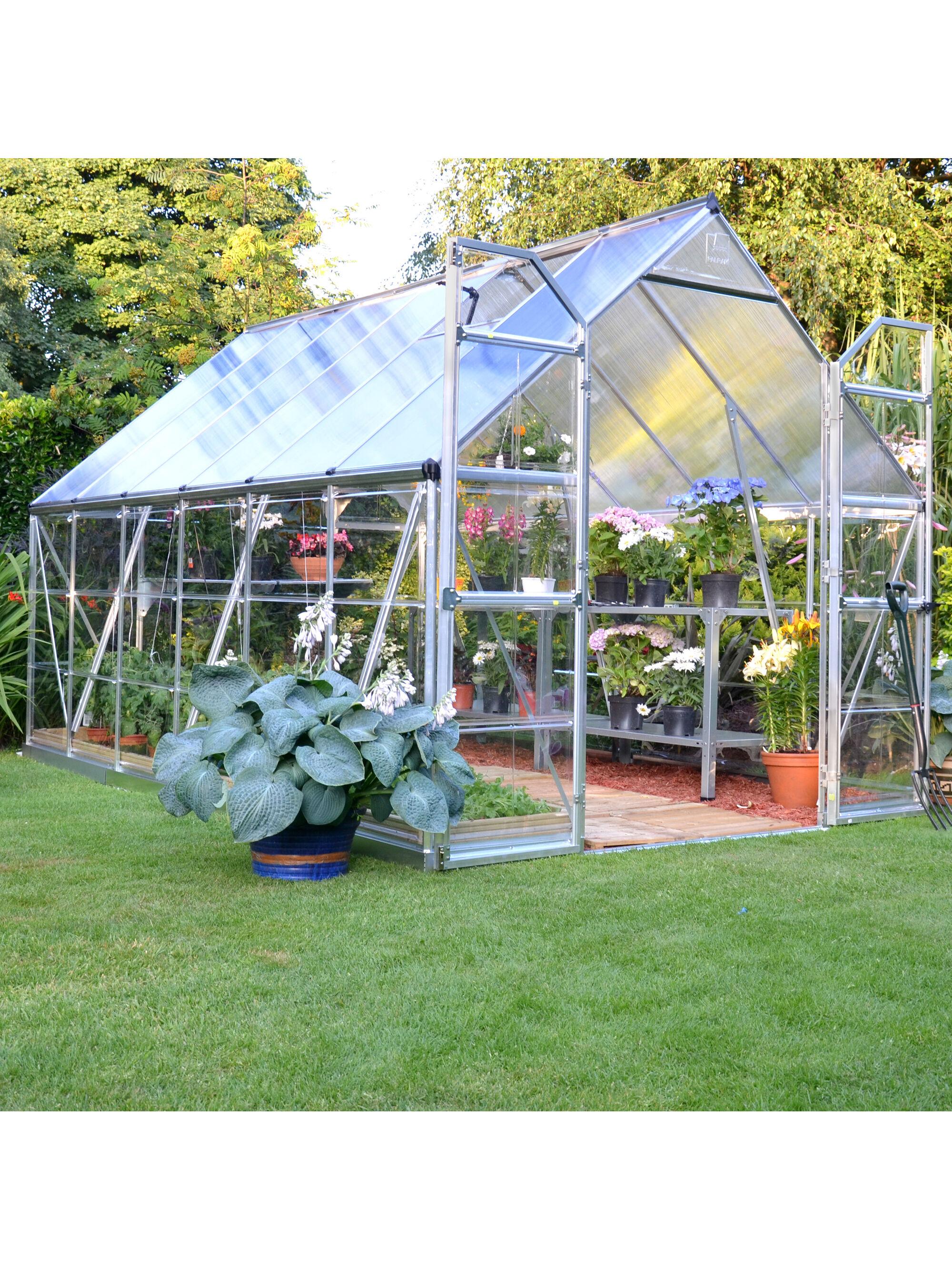 greenhouse kits - polycarbonate