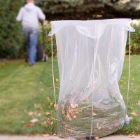 Leaf Bag Holder: Bag Buddy | Gardeners.com