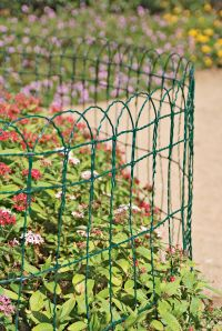 Decorative Wire Border Fence in 4 Heights   Gardeners.com